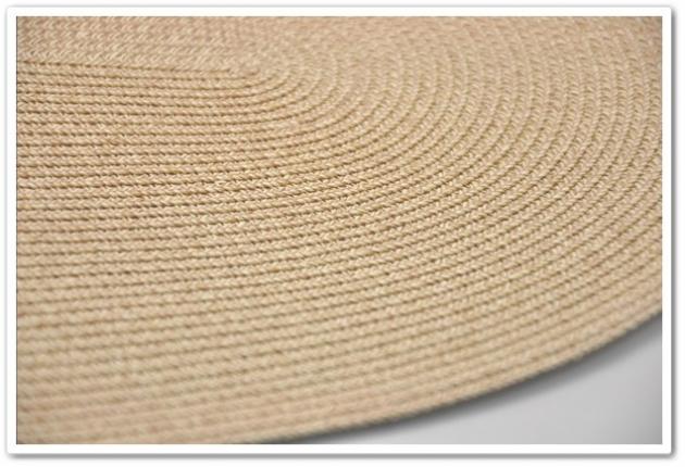 紙纖多功能裝飾墊(橢圓形) 5